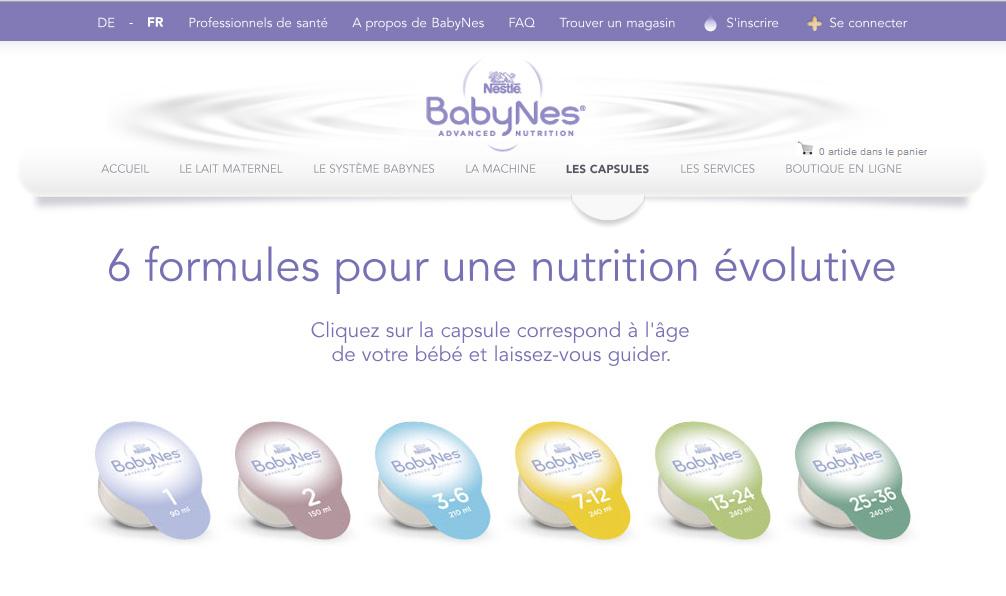 Nestle S Babynes The Keurig For Baby Formula Not In
