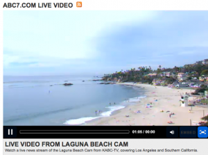 Laguna Beach Live Streaming web cam