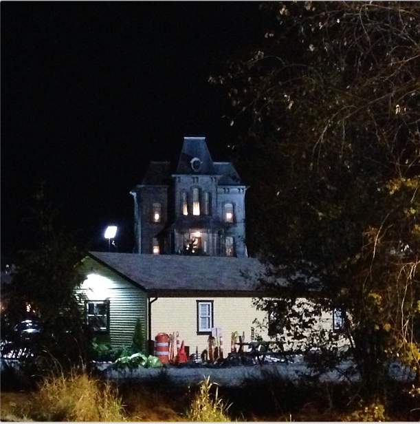 Psycho House At Night Bates Motel Aldergrove