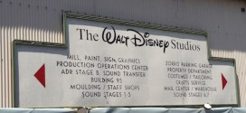 Walt Disney Studio Sign