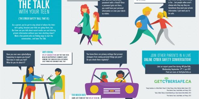 Keep your kids safe online – #CyberTalk September 17th