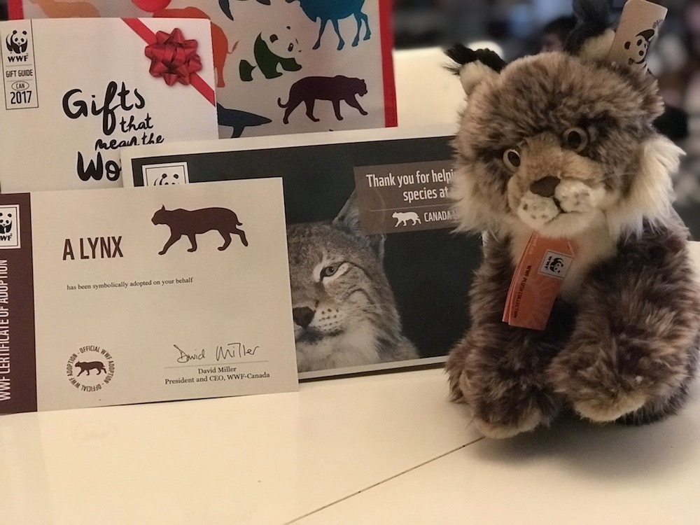 WWF-Canada symbolic adoption kit