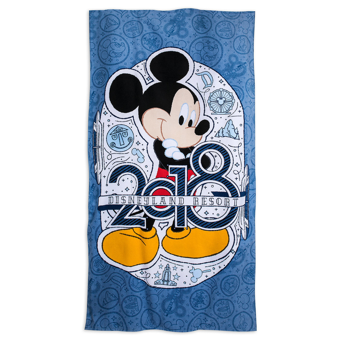 disneyland towels