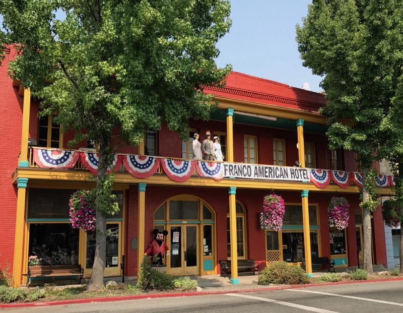 Yreka, California road trip to Disneyland