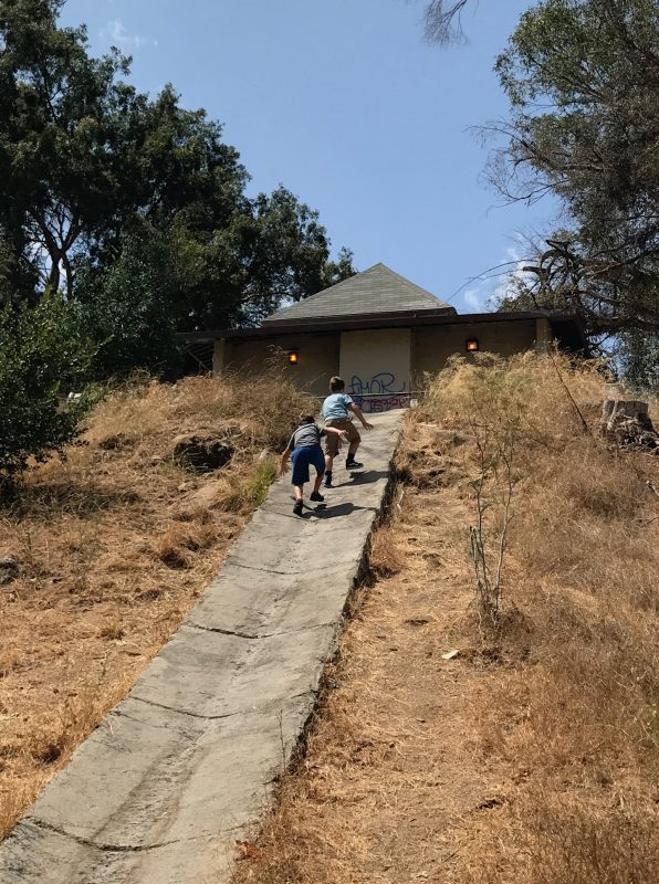 hike to the old la zoo