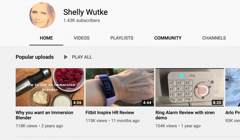 Shelly Wutke Youtube