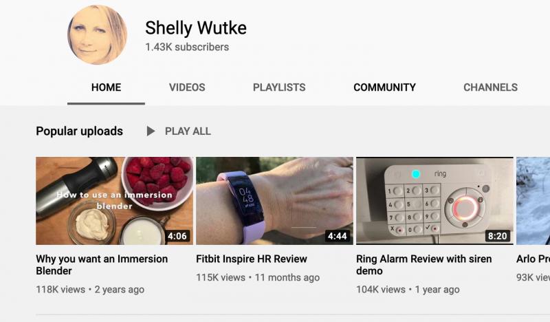 Shelly Wutke Youtube